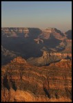 plakat sunset grand canyon 2 arizona usa