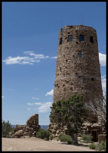 plakat desert view watchtower arizona usa