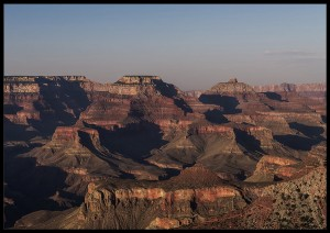plakat grand canyon sunset arizona usa