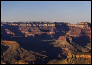 plakat grand canyon sunset arizona usa 2