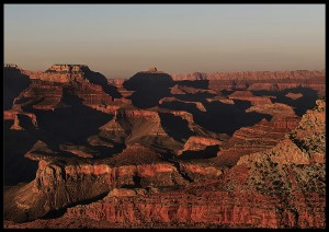 plakat grand canyon sunset arizona usa 4