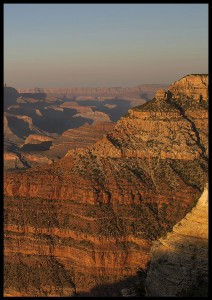 plakat sunset grand canyon 3 arizona usa