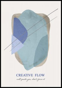 plakat creative flow