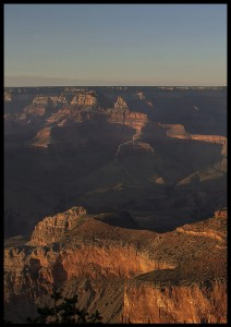 plakat sunset grand canyon 1 arizona usa